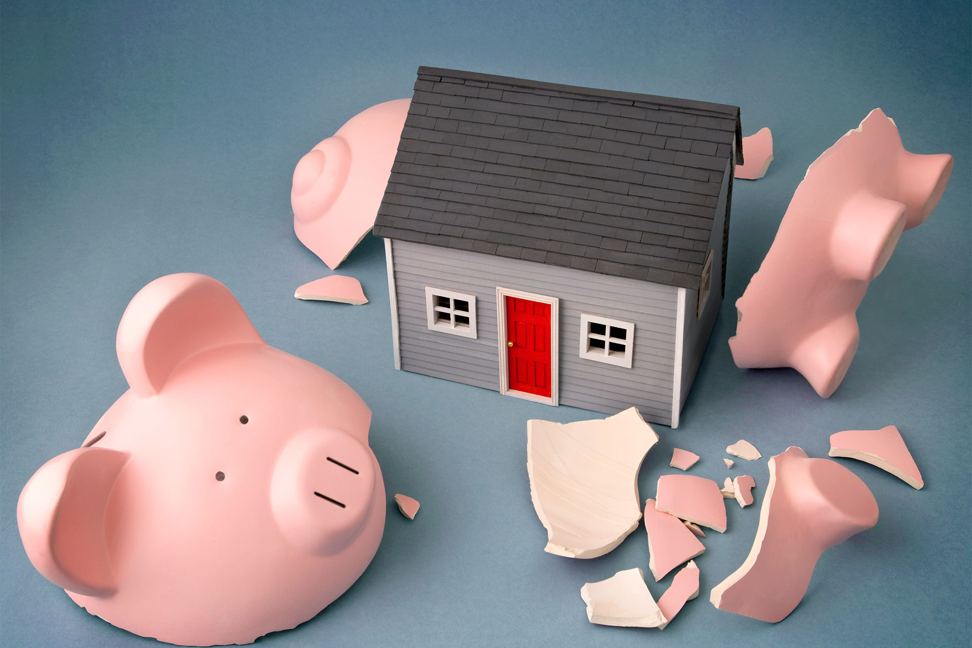 broken-piggy-bank-house